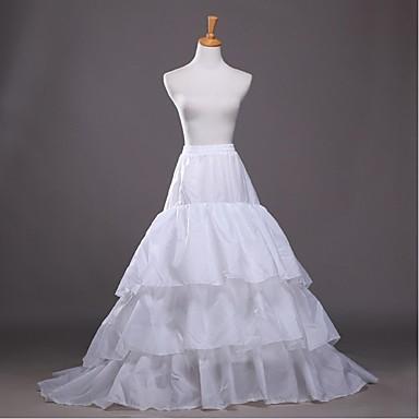 Hochzeit Unterhosen Polyester Bodenlänge A-Linie Mit