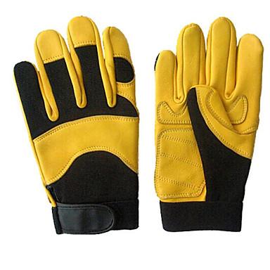 Code de l jaune gants de daim moto sport