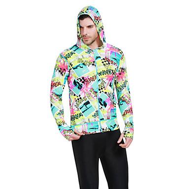 SBART® Homme Costumes humides Combinaison de plongée Veste de Combinaison Résistant aux ultraviolets Compression Tactel Tenue de plongée