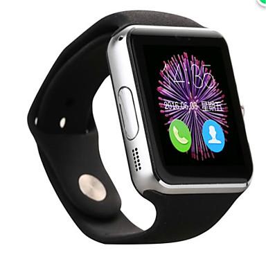 חכמים שעונים iOS / Android מסך מגע / מד צעדים / וידאו מד פעילות / מעקב שינה / Alarm Clock / 1.3 MP / 128MB / מצלמה / חיישן אצבע