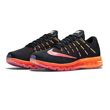 low priced 2d088 3d5a5 Nike Air Max 2016 Running Shoes Mens Black Orange Nike airmax 2016  Athletic Shoes Mens