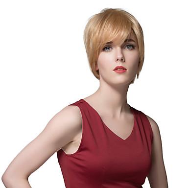 belas perucas de cabelo curto reta humanos para as mulheres com a grande qualidade
