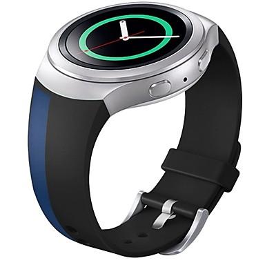 weichem Silikon Ersatzsportband für Samsung-Gang s2 Smart Watch (blau)
