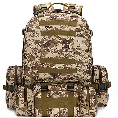 a8b2702900 AOKALI Ruksaci Vojni taktički ruksak 60L - Vodootporno Podesan za nošenje  Višenamjenski Vanjski Camping   planinarenje