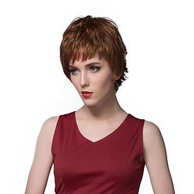 שיער ללא שיער שיער אנושי ישר ללא מכסה פאה