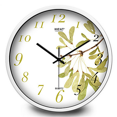 Rund Moderne / Nutidig Wall Clock,Andre Metall 30*30*7