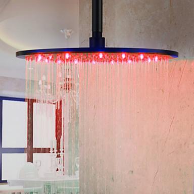 controle de temperatura de cor superior spray de bocal do chuveiro (16 polegadas)