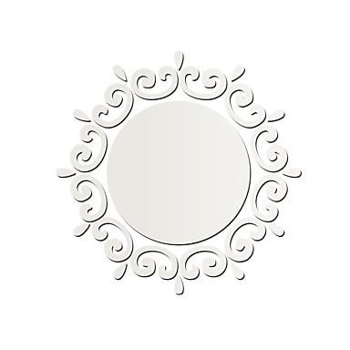 Spejle Wall Stickers 3D mur klistermærker / Veggklistremerker i Speilstil Dekorative Mur Klistermærker,PVC MaterialeKan Omposisjoneres /