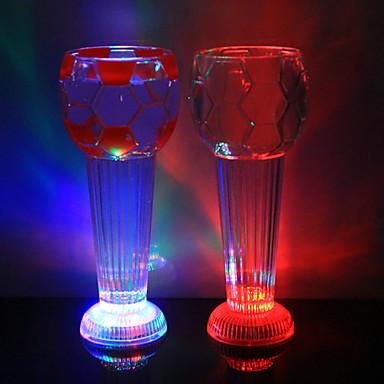 1pc bunte Farbe kreativ gesehen LED-Lampe LED-Nachtlicht Trinkbehälter