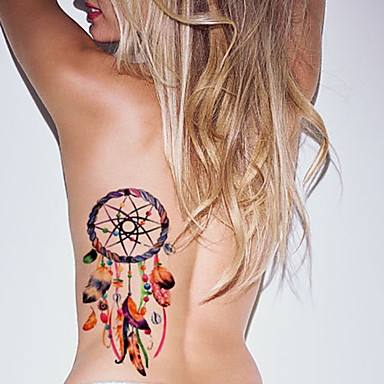 Tattoo Aufkleber Andere Non Toxic Waterproof Damen Herren Erwachsener Teen Flash-Tattoo Temporary Tattoos