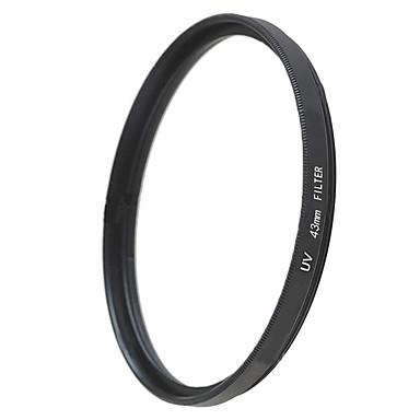 emoblitz 43mm uv ultrafiolett beskytter objektivet filter svart
