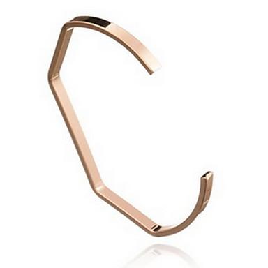 Damen Manschetten-Armbänder Modisch Böhmen-Art Aleación Anker Schmuck Schwarz Silber Golden Schmuck Für Alltag Normal 1 Stück