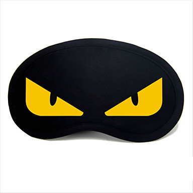 Masque de Sommeil de Voyage Repos de Voyage pour Repos de Voyage Noir/Jaune