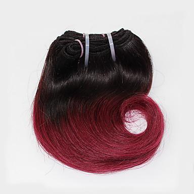 Brasiliansk hår Bølget Hårvever med menneskehår 1 Deler 0.05