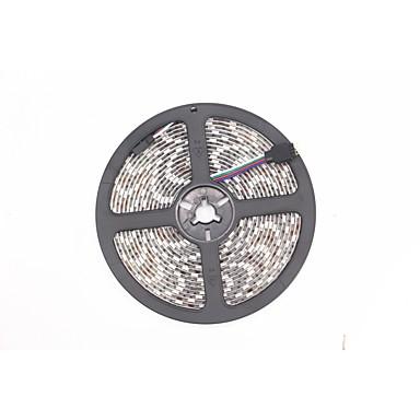 5m RGB Regler 300 LEDs Warmes Weiß RGB Weiß Schneidbar Abblendbar Wasserfest 12V