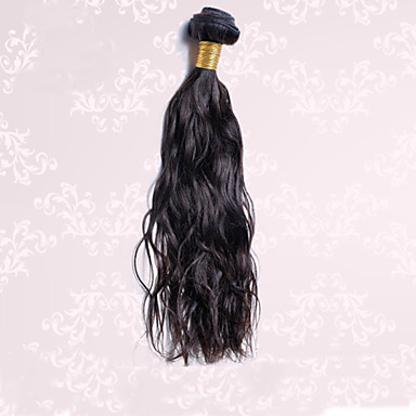 Cheveux Brésiliens Ondulation Naturelle Classique Tissages de cheveux humains 1 Pièce Haute qualité Tissages de cheveux humains Quotidien