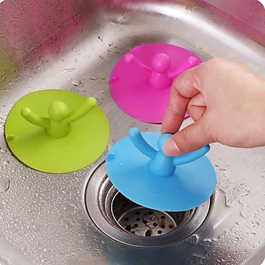 איכות גבוהה 1pc סיליקון מנקה כיורים כלים, מִטְבָּח ציוד ניקיון