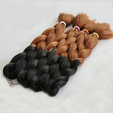 Tresses Jumbo Tresse Natté boîtes Tresses 51cm Cheveux 100 % Kanekalon # 30 Rajouts de Tresses Extensions de cheveux