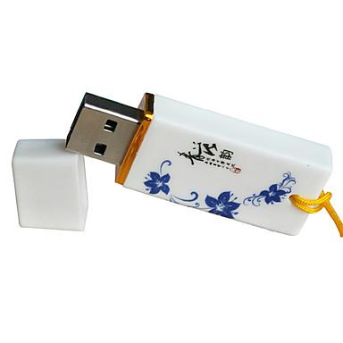 hot høyverdig blå og hvite keramiske personlige mote flashkort