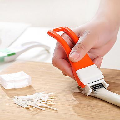 1 stk Cutter & Slicer For for Vegetabilsk Rustfritt stål Høy kvalitet / Creative Kitchen Gadget