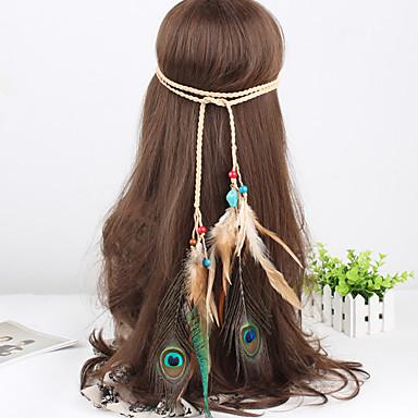 westlichen Stil Feder Perlen weben Stirnbänder 1 Stück der Frauen