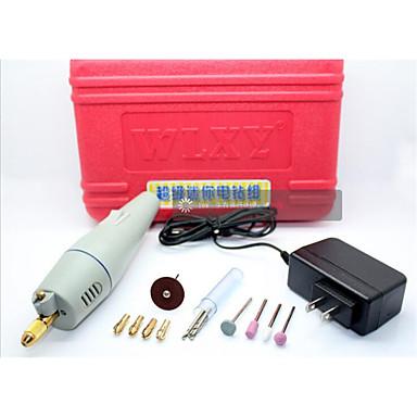 DIY kleine elektrische Bohrmaschine Miniatur-Elektroschleifmühle Schleifer Set