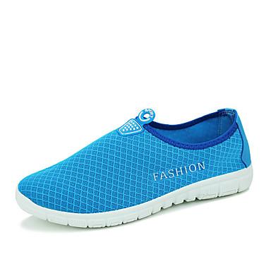 Herre-Tyll-Flat hæl-Komfort-一脚蹬鞋、懒人鞋-Fritid-