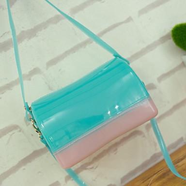 Feminino PVC Casual / Ao Ar Livre Bolsa de Ombro Colorido
