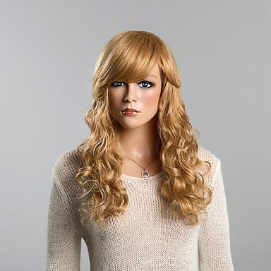 Perucas de cabelo capless do cabelo humano Cabelo Humano Encaracolado Clássico Alta qualidade Sem Touca Peruca Diário