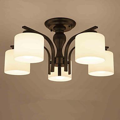 Lustre ,  Contemporain Peintures Fonctionnalité for LED Style mini Métal Salle de séjour Chambre à coucher Salle à manger