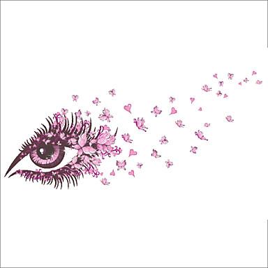 Romantik Stillleben Mode Blumen Fantasie Wand-Sticker Flugzeug-Wand Sticker Dekorative Wand Sticker Hochzeits Sticker Stoff AbziehbarHaus
