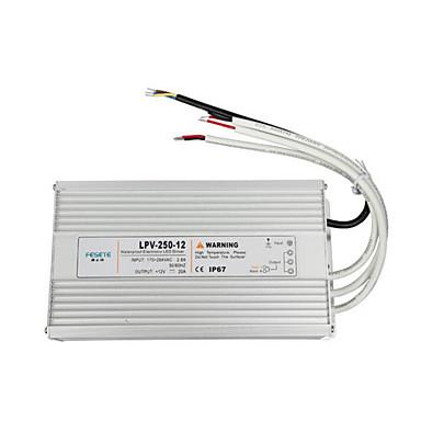 fornecimentos industriais LPV-250-12v LED de energia à prova de água de alimentação de comutação