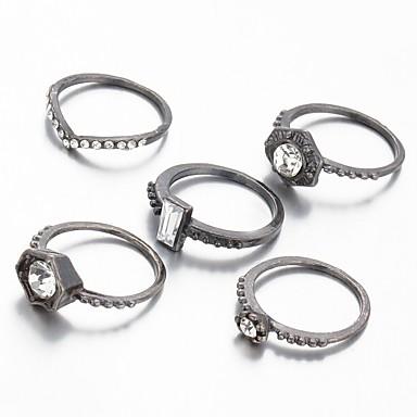 Anéis Fashion / Vintage Casamento / Pesta / Diário / Casual Jóias Feminino / Masculino Anéis Statement 1pç,Tamanho Único Cobre