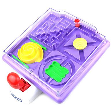 apaziguadores do stress / brinquedo educativo Toy jogo Diamante Quadrangular Plástico Roxa Para Crianças