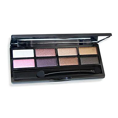 8 farger øyenskygge naken comestic langvarig skjønnhet makeup tilfeldige farger