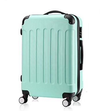Unisexe PVC Extérieur Bagages Blanc / Rose / Violet / Bleu / Vert / Argent / Noir / Fuchsia