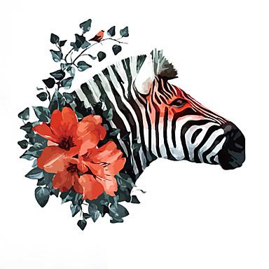 Dekorative Wand Sticker - Tier Wandaufkleber Tiere Wohnzimmer / Schlafzimmer / Esszimmer / Abziehbar