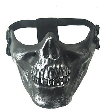 Mask 1pç Máscaras de Carnaval Legal / Especial Tamanho Único cinzento Poliéster
