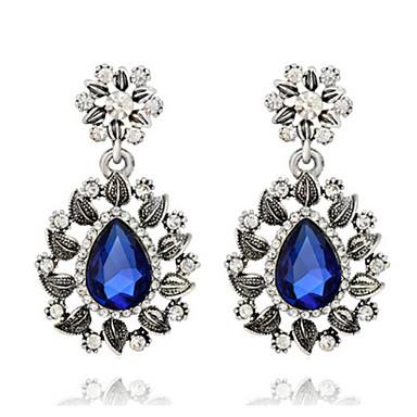 בגדי ריקוד נשים - אופנתי כחול ים עבור חתונה / Party / יומי / יהלום / Multi-stone / זירקון