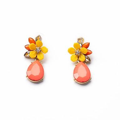 Feminino Moda Estilo Boêmio Europeu bijuterias Liga Formato de Flor Jóias Para Festa Diário Casual