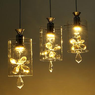 Max 5W Lampe suspendue ,  Contemporain Autres Fonctionnalité for Cristal / LED / Style mini MétalSalle de séjour / Chambre à coucher /