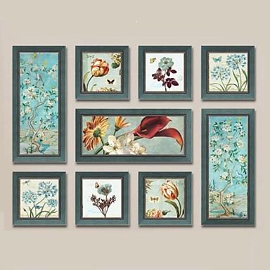 Canvas Set Still Life Moderne,Mere End Fem Paneler Lerret Horisontal Panoramic Print Art Wall Decor For Hjem Dekor