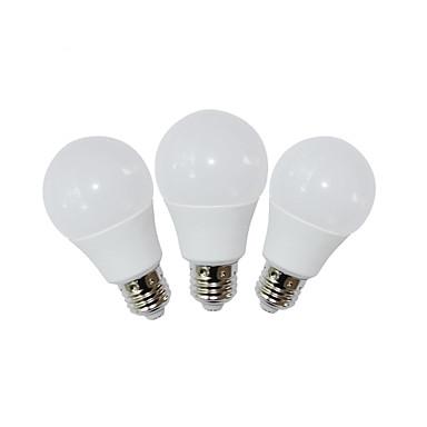 E26 LED-globepærer A60(A19) 9 leds SMD 2835 Dekorativ Varm hvid Kold hvid 810lm 3000/6000K Vekselstrøm 85-265V