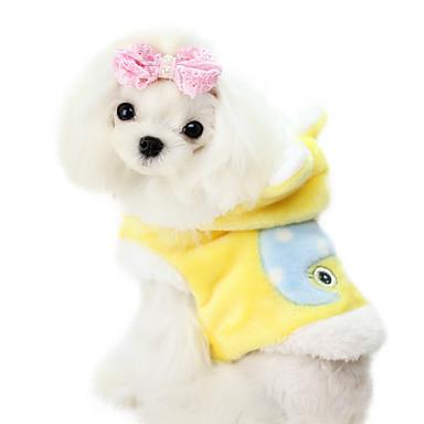 Pas Kaputi Odjeća za psa Bijela / Plava / Pink Pamuk / Velvet Kostim Za kućne ljubimce Muškarci / Žene Moda