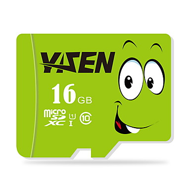 yisen 16GB UHS-I u1 / klasse 10 microSD / microSDHC / microSDXC / tfmax læse speed80 (mb / s)