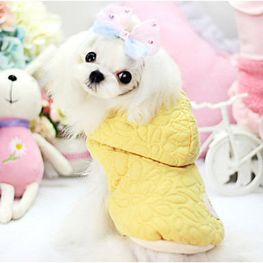 Hond Jassen Hoodies Hondenkleding Houd Warm Effen