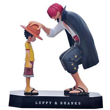 Anime Akcijske figure Inspirirana One Piece Monkey D. Luffy PVC CM Model Igračke Doll igračkama Muškarci