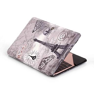 for MacBook Blandet farve Ternet Specialdesign Dyr Kunstlæder Materiale