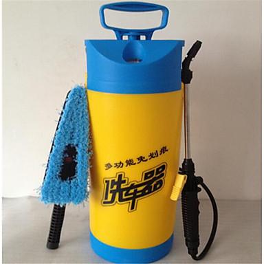 hånd 8 liter trykmåler bilvask værktøj til bærbare husstand bilvask