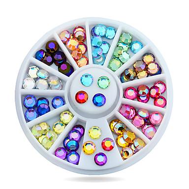 1 pcs Negle Smykker Smuk Negle kunst Manicure Pedicure Daglig Klassisk / Akryl / Negle smykker